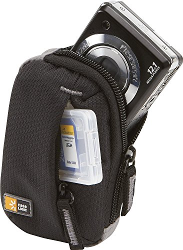 Case Logic Ultra Compact Camera Case for Sony Cyber-shot DSC-W830 with Storage (Camera Cases For Sony Cybershot)