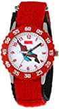 Marvel Kids' W000104''Spider-Man Time Teacher'' Stainless Steel Watch
