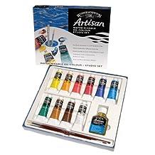 Winsor & Newton Artisan Water Mixable Oil Color Studio Set
