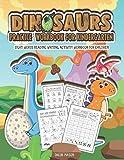 Dinosaurs Practice Workbook for Kindergarten: Sight Words Reading Writing Activity Workbook for Children (Kindergarten Workbook)