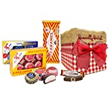 The Very Best of Tunnock's in Traditional Red Gingham Gift Box - Milk Chocolate Tea Cakes, Dark Chocolate Tea Cakes,8x Caramel Wafer