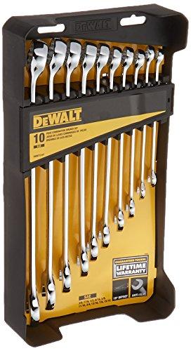 (DEWALT DWMT72167 Combination Wrench Set (10 Piece))