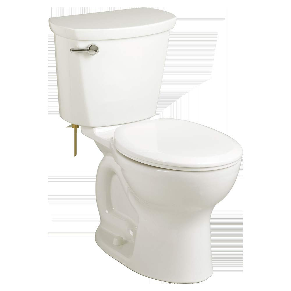 Cadet PRO Round Front 1.28 gpf 2-Piece Toilet in White