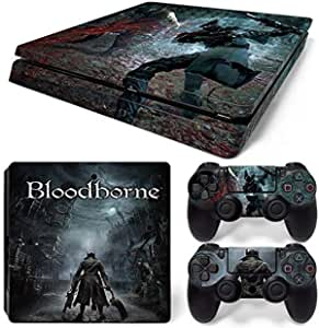 Waterproof Colorful Vinyl For PS4 Slim Sticker For Sony Playstation 4 Slim Console/2 controller Skin Sticker For PS4 S Skin Waterproof Sticker