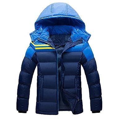 Winter Thick Parka Jacket Men Mens Tickening Warm Down ...