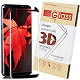 Galaxy S8 Plus Screen Protector,S8 Plus Tempered Glass Screen Protector,Linycase [9H Hardness] [Anti-Scratch ] Screen Protector For Samsung Galaxy S8 Plus-Black