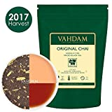 India's Original Masala Chai Tea Leaves (100 Cups, 7oz) Ancient Indian House Recipe, Assam CTC Black Tea blended with Cardamom, Cinnamon, Black Peppercorns & Cloves from India, 3.53oz (PACK OF 2)