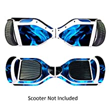 Self-Balancing Electric Scooters Skin Skate Hover Board Sticker Self Balance Motorized Longboard Decal Real 2 Wheel Scooter Smart Protective Cover Bluetooth Hover Drifting Boards Vinyl Case Stickers