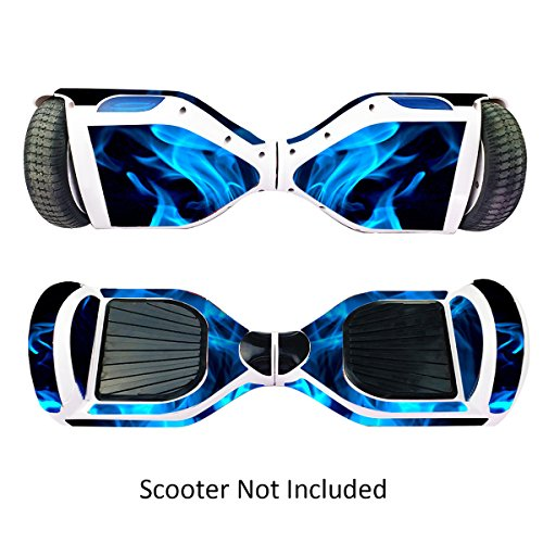 GameXcel Sticker for Hover Board - Skin for Self-Balancing Electric Scooter - Decal for Self Balance Mobility Longboard - Smart Protective Cover Vinyl Case for 2 Wheel Scooter Board -