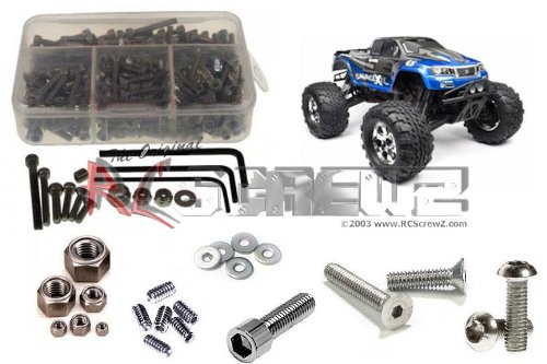 HPI Racing Savage X 4.6 RTR Stainless Steel Screw Kit ()