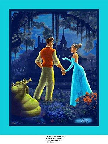 Anti-Pill Disney Princess & The Frog Fleece Panel A96