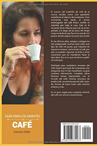 Guía para los amantes del café (Spanish Edition): Shlomo Stern: 9781726631167: Amazon.com: Books
