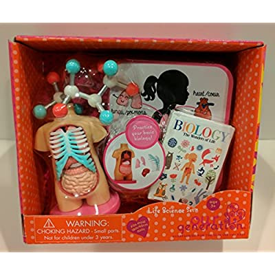 Our Generation Life Science 18 Doll Accessories Biology Anatomy Model: Toys & Games