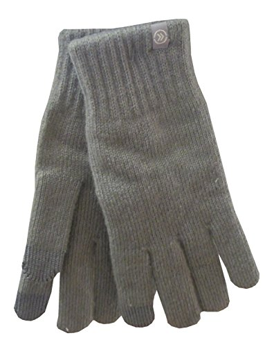 Isotoner Women's Smartouch Gloves w/ nearly invisible touchscreen technology,CHROME
