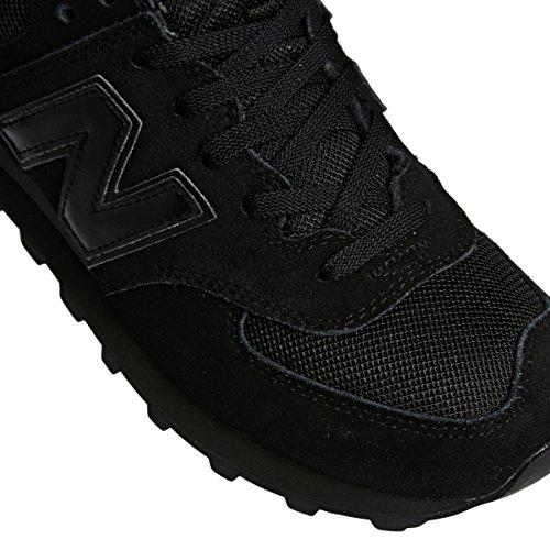 New Balance M574 D, Baskets mode homme Black