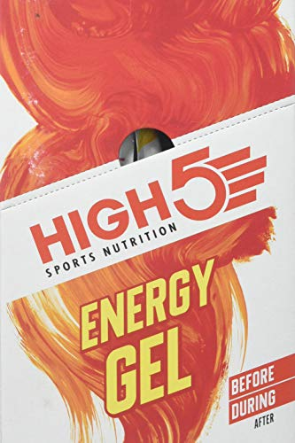 High 5 Energy Gel – 20 x 38g Sachet- Juicy Orange