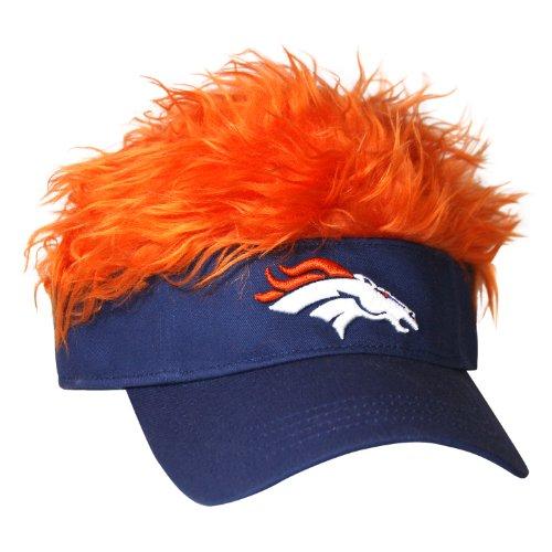 NFL Denver Broncos Flair Hair Visor
