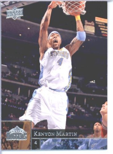 2009 /10 Upper Deck Basketball Card # 43 Kenyon Martin Nuggets Mint Condition - Shipped in Protective ScrewDown Display Case! (Condition Mint Nuggets)