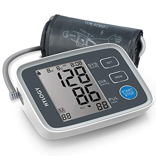 Blood Pressure Monitor, HYLOGY Digital Upper Arm Blood Pressure Monitor for...