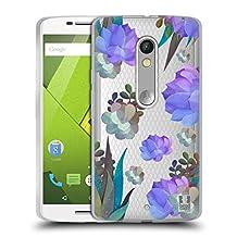 Head Case Designs Succulent Watercolour Cactus Soft Gel Case for Motorola Moto X Play