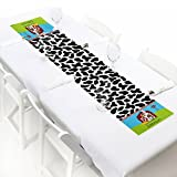 Custom Farm Animals - Personalized Petite Baby Shower or Birthday Party Paper Table Runner - 12'' x 60''