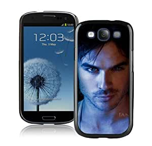 High Quality Samsung Galaxy S3 I9300 Case ,Cool And Fantastic Designed Case With Ian Somerhalder 2 Black Samsung Galaxy S3 I9300 Cover