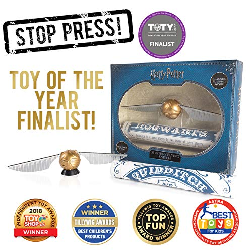 (WOW! Stuff Collection Harry Potter Mystery Flying Snitch - Award Winner!)