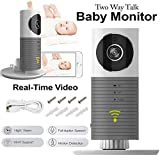 Wifi IP Camera, 3T Cleverdog Surveillance Camera With Two Way Audio Night Vision For Pet Monitor, Nanny Camera, Baby Monitor and Puppy Cam Camera (US charger)