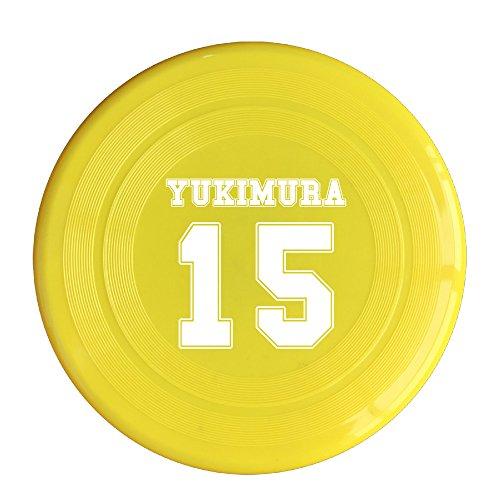 AOLM Yukimura NO.15 Outdoor Game Frisbee Flying Discs Yellow