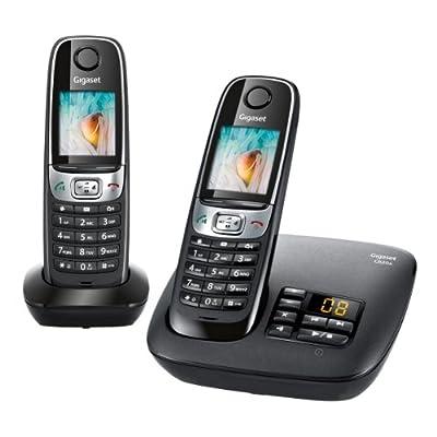 Téléphone fixe SIEMENS GIGASET C620A NOIR DUO AVEC REPONDEUR