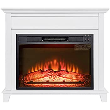 Amazon Com Lifesmart Large Room Infrared Quartz Fireplace