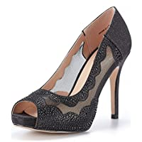 DREAM PAIRS Women's Divine-01 High Heels Dress Pump Shoes