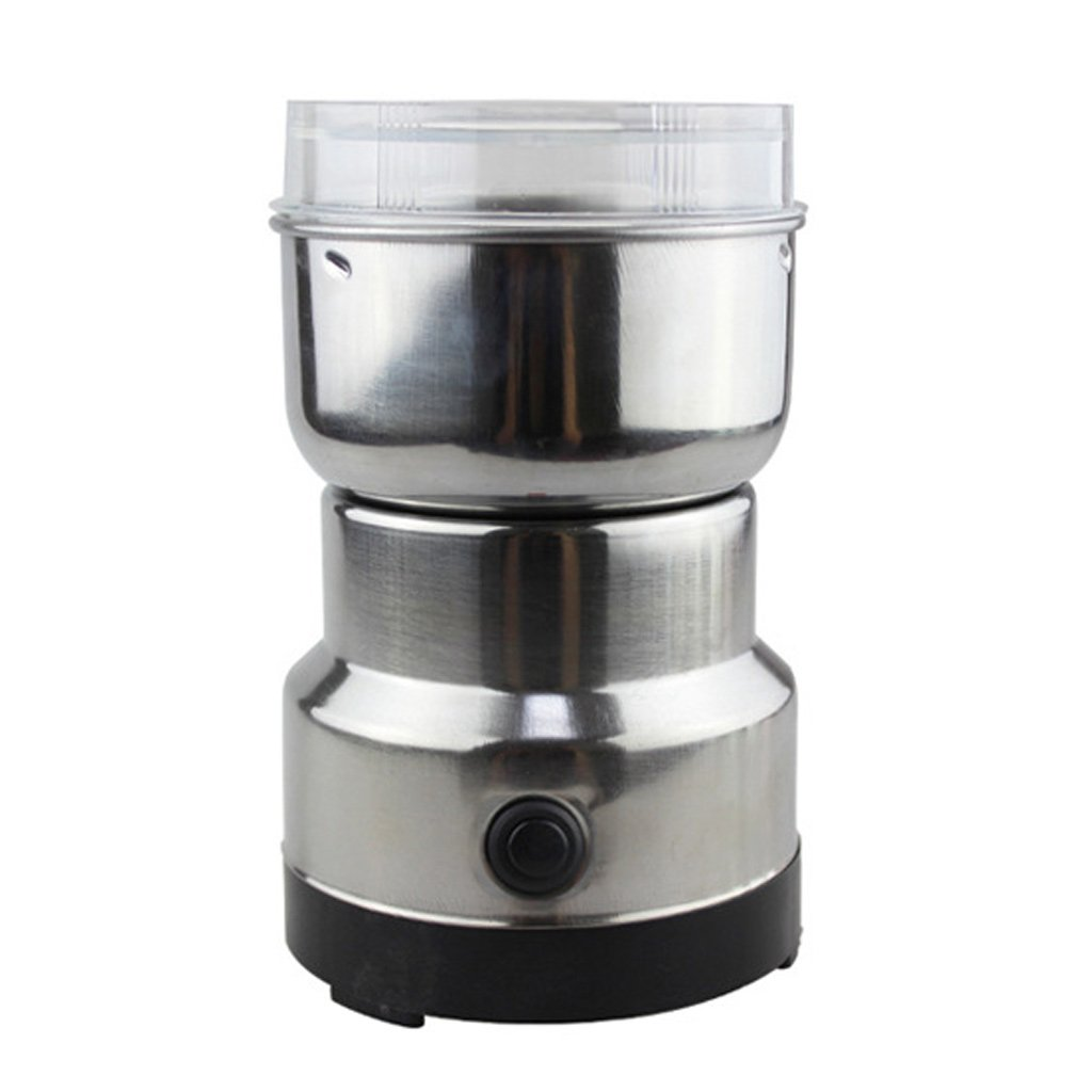 Redriver Coffee Bean Grinder, Stainless Electric Grinding for Herbs, Spices, Nuts, Grains, Coffee SSL001
