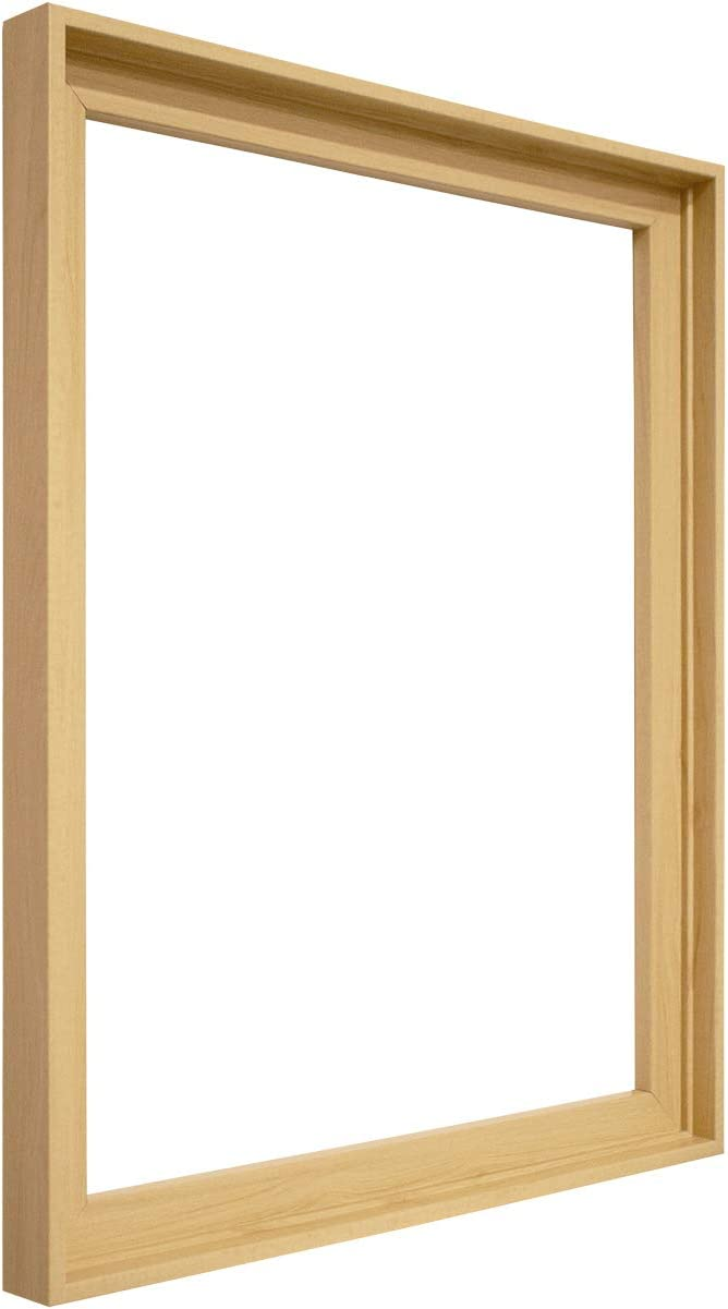 Floater Frame for Stretched Canvas and Canvas Panels Black, 8 x 12 inch 1-3//8 Thick for 3//4 Deep Canvas Floater Frames for Canvas Paintings