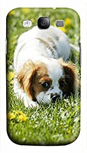case mate Samsung S3 case Puppy 2 Animal 3D cover custom Samsung S3