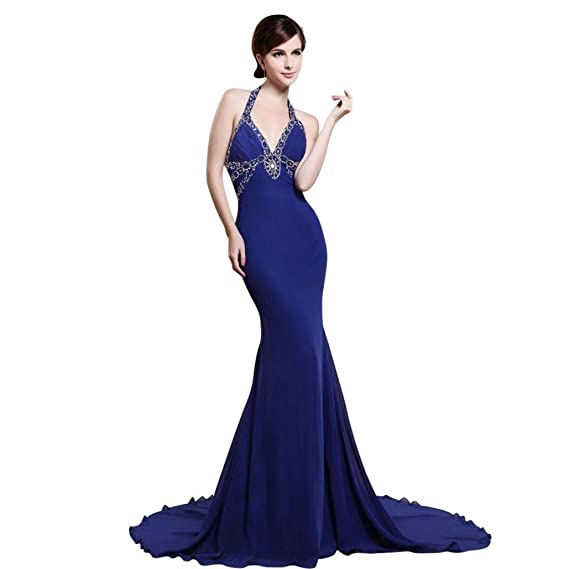 Prom dresses royal blue