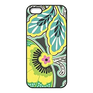 Floral Couture iPhone 4 4s Cell Phone Case Black phone component RT_340357