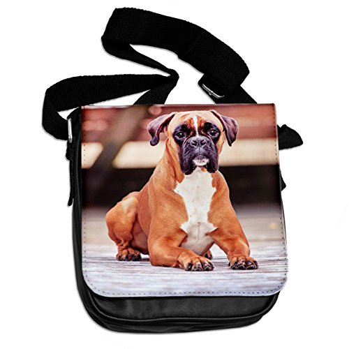 Boxer Cane Animale Borsa A Tracolla 053