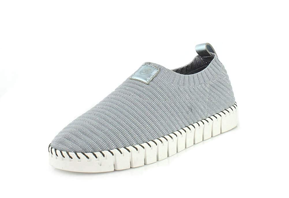 Pewter Silver J.Renee Women's Lightweight Knit Donnia Fashion Sneakers