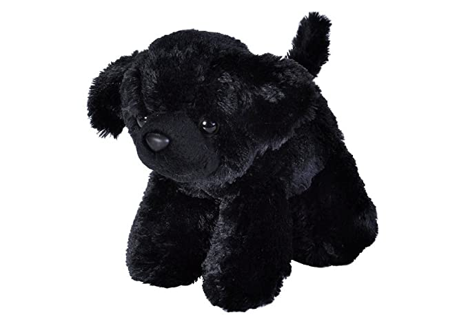Amazon.com: Wild Republic Black Labrador Plush, Stuffed Animal, Plush Toy, Gifts for Kids, HugEMS 7