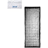 Godox Softbox 35x160cm / 14X 63 Bowens Mount Softbox with Honeycomb Grid for Studio Strobe Flash Light