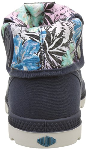 Gray Low Femme Bleu Parisian Cement Print LP Night Baggy Basses Gris P TW Palladium Sneakers Hawaii 0wxqOA