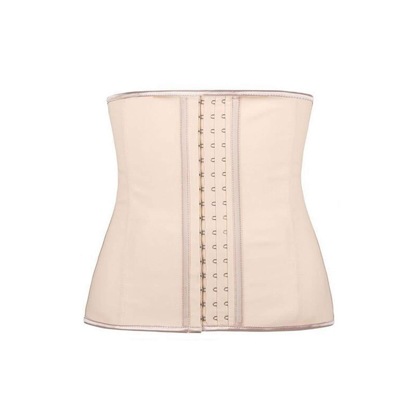 7f70067aaff Amazon.com  Latex Waist Cincher Trainer Tummy Control Slimming 9 Steel Bones  Belt Corset Plus Size XS-6XL  Clothing