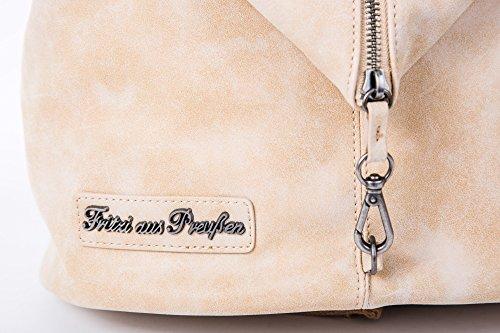 Fritzi aus Preußen - Bolso mochila para mujer Beige beige