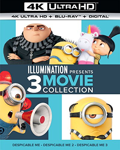 4K Blu-ray : Illumination Presents 3 Movie Collection (With Blu-Ray, 4K Mastering, Boxed Set, 6PC)