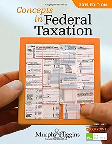 Concepts in Federal Taxation 2015 (with H&R Block™ Tax Preparation Software CD-ROM and RIA Checkpoint 1 term (6 months) Printed Access (Business Taxes Software)