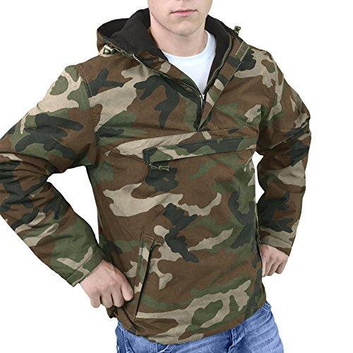 1514971661258 Surplus Windbreaker Jacket Woodland at Amazon Men's Clothing store: