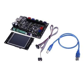 Backbayia - Pantalla táctil con Cable de Control para Impresora 3D ...