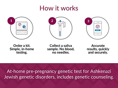 VeriYou Pre-Pregnancy Test: Ashkenazi Jewish Genetic Test - Includes Genetic Counseling by VeriYou (Image #4)
