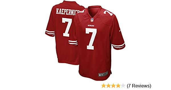 7afa7ae0017 Amazon.com   Nike Men s Colin Kaepernick San Francisco 49ers Extended Size  Game Jersey   Sports Fan Jerseys   Sports   Outdoors